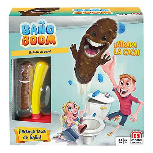 juego de mesa baño boom atrapa la caca