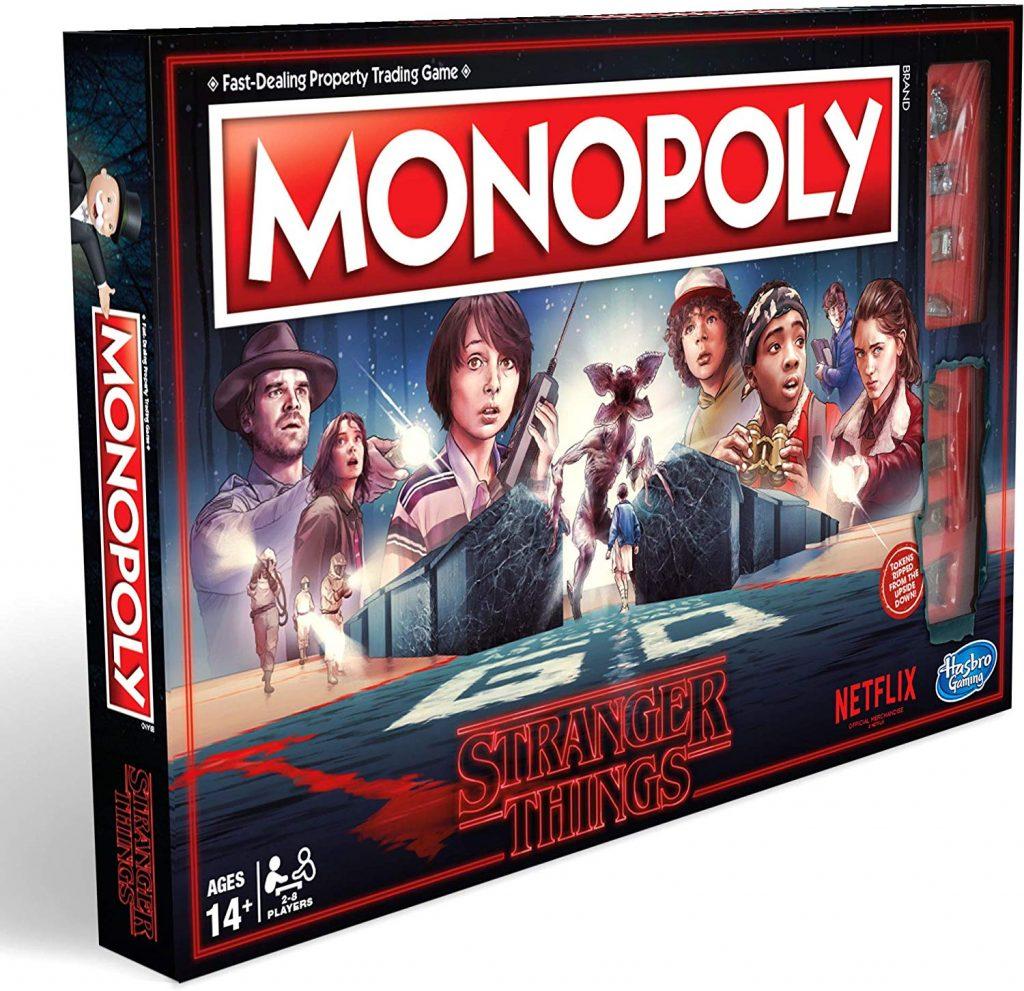 juego de mesa monopoly stranger things