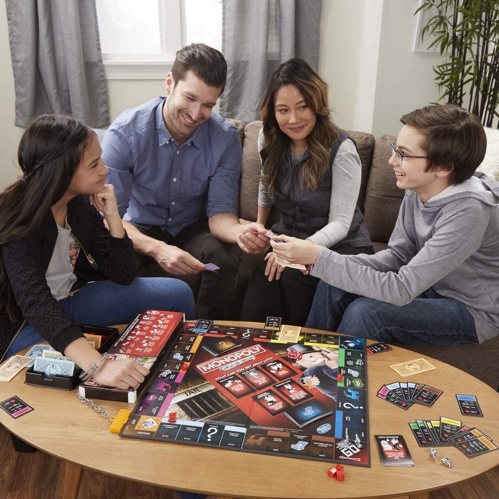 Juego de mesa familiar - Monopoly Tramposo